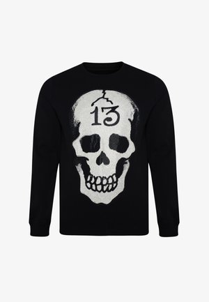 SKULL-13 CREW NECK SWEATSHIRT - Sweatshirt - black
