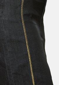 Sheego - Pencil skirt - black denim - 4