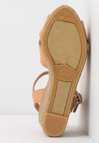 Castañer - BLAUDELL - Sandály na vysokém podpatku - salmon - 6