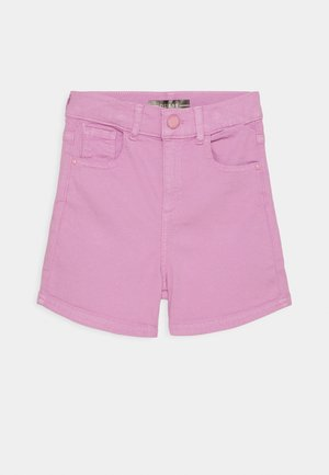 CORE JUNIOR BULL - Denim shorts - crystal mauve