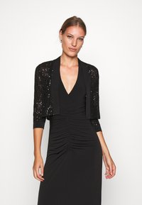 Swing - BOLERO PAILLETTE - Blazer - black - 0