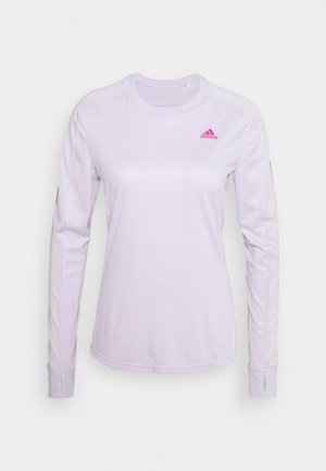 SPORTS RUNNING LONG SLEEVE - Treningsskjorter - purple