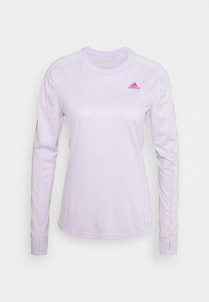 SPORTS RUNNING LONG SLEEVE - Camiseta de deporte - purple