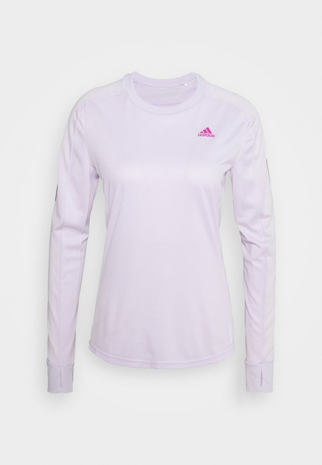 SPORTS RUNNING LONG SLEEVE - Sports shirt - purple