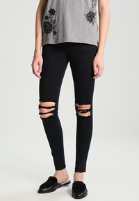 Dr.Denim - LEXY - Jeans Skinny Fit - wrecking black - 0