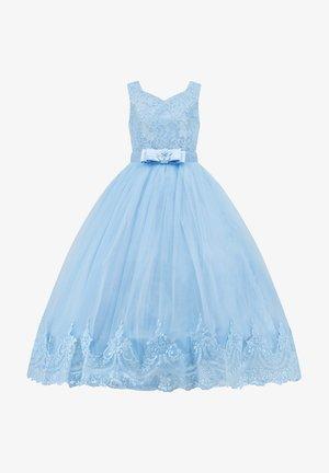 MIT SPITZE - Cocktail dress / Party dress - babyblau