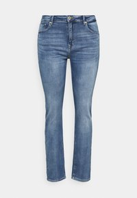 ONLY Carmakoma - CARRICA LIFE - Jeans straight leg - medium blue denim - 0