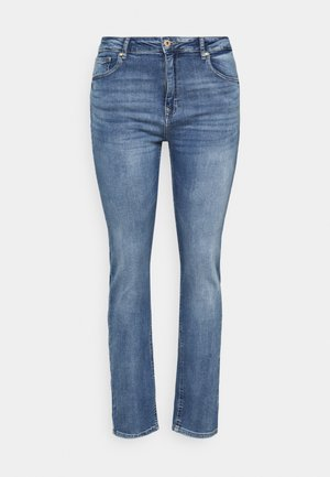 CARRICA LIFE - Jeans straight leg - medium blue denim