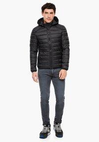 s.Oliver - LANGARM - Light jacket - black - 1