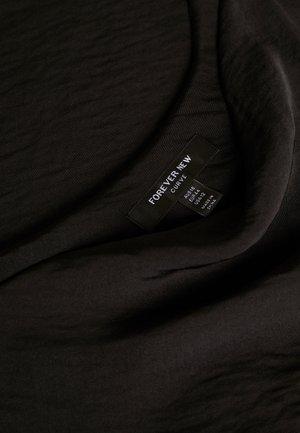 MARIAH COWL NECK CAMISOLE - Top - black