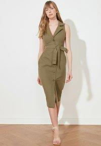 Trendyol - PARENT - Shirt dress - green - 0