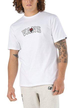 MN 66 CHAMPS SS - T-shirt med print - white
