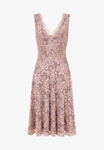 FLORAL  - Cocktail dress / Party dress - light pink
