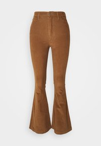 Hollister Co. - FLARE - Trousers - toasted coconut - 0