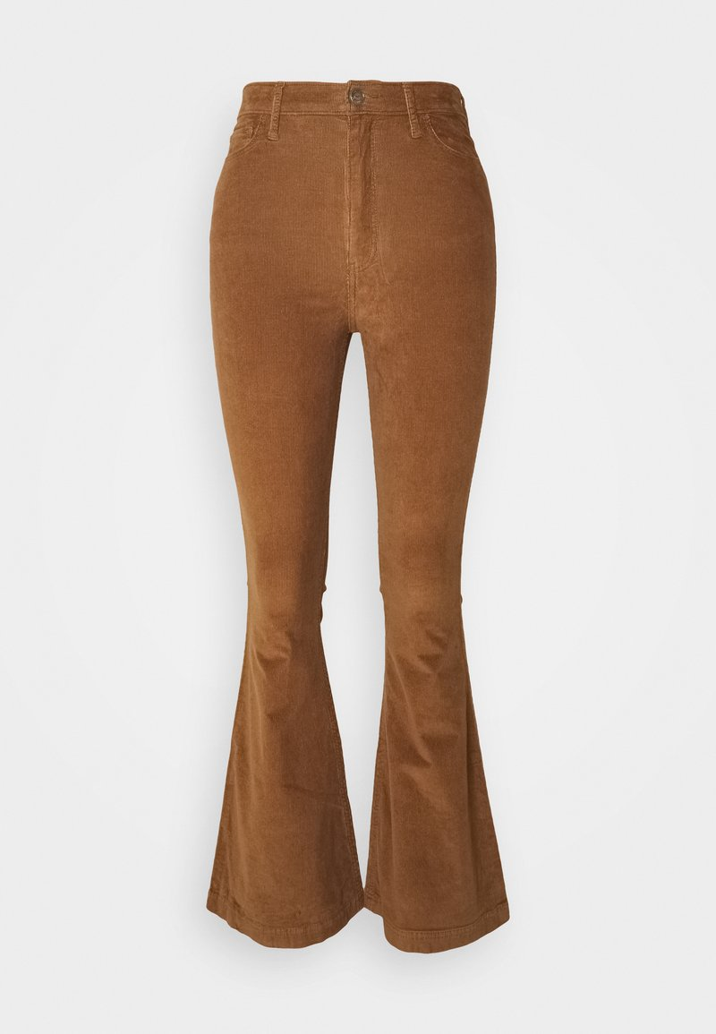 Hollister Co. - FLARE - Trousers - toasted coconut