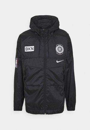 NBA BROOKLYN NETS LIGHTWEIGHT JACKET - Club wear - black