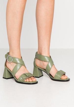 DARA STUD - Sandals - sage