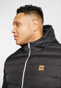 Urban Classics - BASIC BUBBLE JACKET - Winter jacket - black - 3