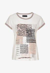 Decay - Print T-shirt - creme - 0