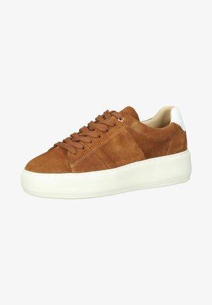 Sneakersy niskie - tobacco