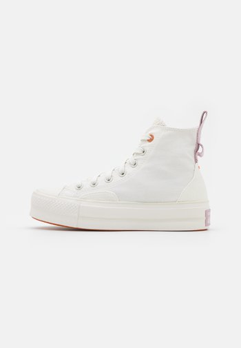 CHUCK TAYLOR ALL STAR LIFT - High-top trainers - vintage white/egret/himalayan salt