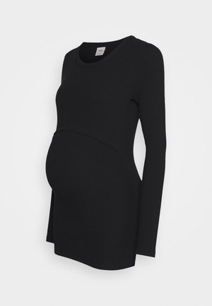 SIGNE LONG SLEEVED - Topper langermet - black