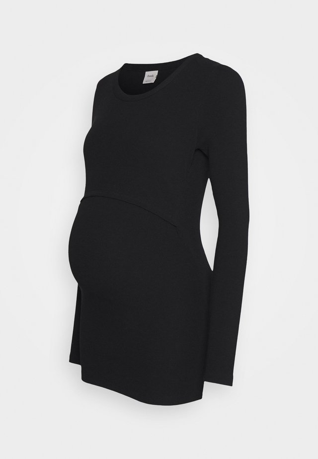 SIGNE LONG SLEEVED - Long sleeved top - black