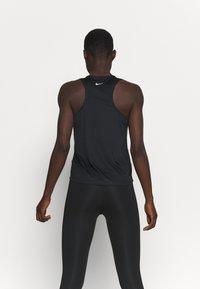 Nike Performance - RUN TANK - Top - black/silver - 2