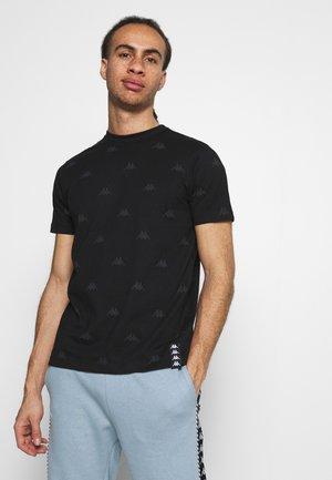 IZDOT - Print T-shirt - caviar
