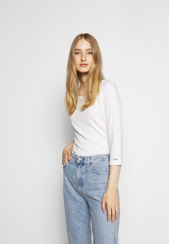 DICARE - Camiseta de manga larga - natural