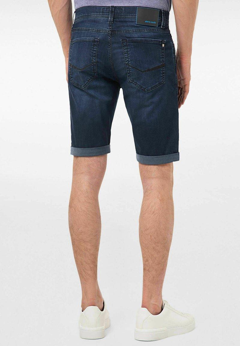 Pierre Cardin - Denim shorts - blueblack