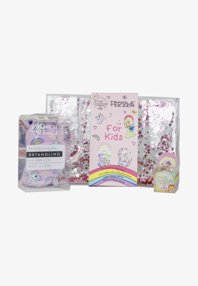 INVISIBOBBLE & TANGLE TEEZER UNICORN KIDS - Hair set - -