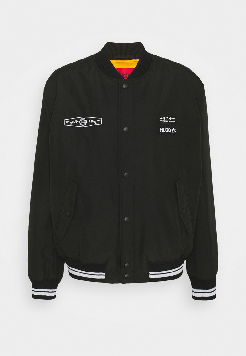 HUGO - BESTI - Bomber Jacket - black