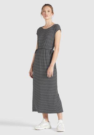 CRISTELLA - Maxi dress - schwarz-weiß gestreift