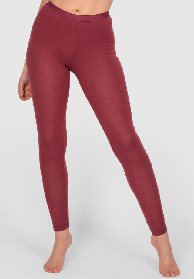 ACTIVE LONGS - Tights - light burgundy