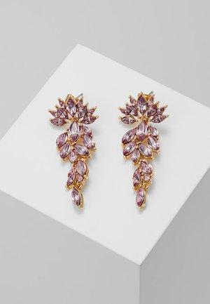 PCMARLO EARRINGS KEY - Náušnice - gold-coloured
