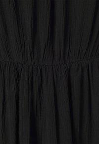 Vila - VIMESA BRAIDED SHORT DRESS - Day dress - black - 2