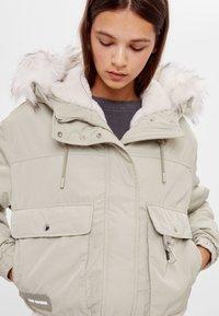 Bershka - Winter jacket - green - 3