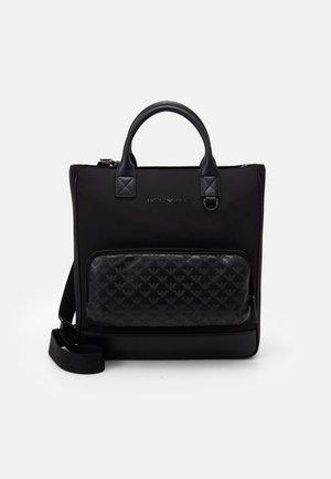 TOTE EAGLE POCKET UNISEX - Shopping bag - black