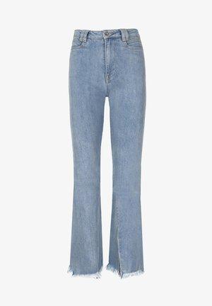 SPLIT FLARE - Bootcut jeans - light blue