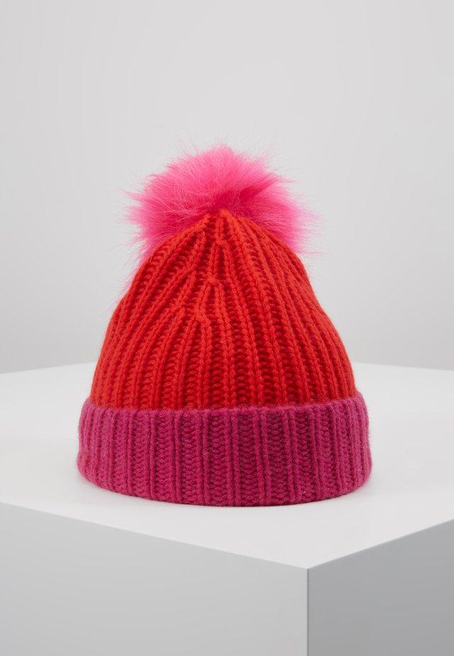 ALLEGRA - Mütze - red/pink