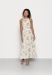 VILA PETITE - VIMESA BRAIDED MAXI DRESS PETITE - Maxi dress - sandshell - 0