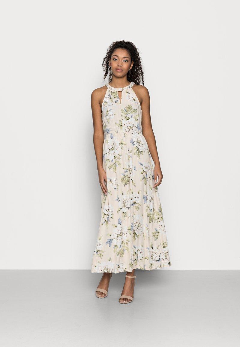 VILA PETITE - VIMESA BRAIDED MAXI DRESS PETITE - Maxi dress - sandshell