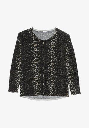 EMILY CARDIGAN LEO  - Vest - black