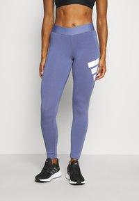 adidas Performance - LEGGING - Collant - orbit violet - 0