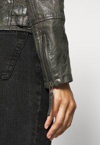 Gipsy - NOLA LAGA - Leather jacket - grey - 7