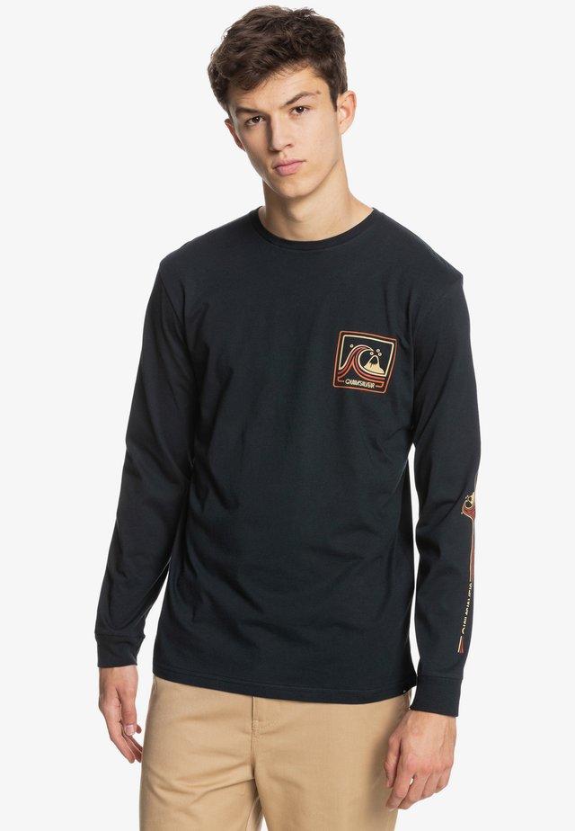 HIGHWAY VAGABOND - Long sleeved top - black