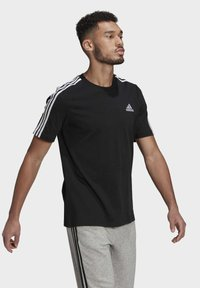 adidas Performance - Camiseta estampada - black/white - 0