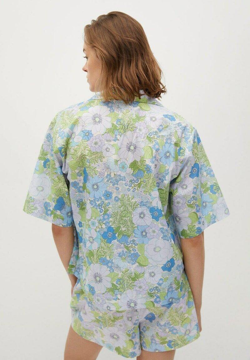 Mango - Button-down blouse - himmelblau