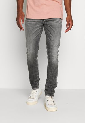 TEPPHAR-X - Jeans Skinny Fit - black denim